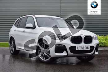 BMW X3 xDrive20d M Sport 5dr Step Auto in Alpine White at Listers Boston (BMW)