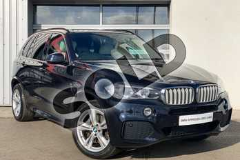 BMW X5 xDrive40d M Sport 5dr Auto in Carbon Black at Listers King's Lynn (BMW)