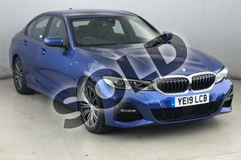 BMW 3 Series 320d xDrive M Sport 4dr Step Auto in Portimao Blue at Listers King's Lynn (BMW)