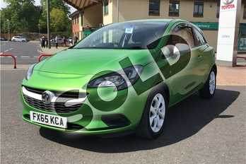 Vauxhall Corsa 1.2 Sting 3dr in Metallic - Lime green at Listers Toyota Boston