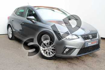 SEAT Ibiza 1.0 SE Design 5dr in Monsoon Grey at Listers SEAT Worcester