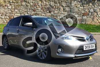 Toyota Auris 1.8 VVTi Hybrid Excel 5dr CVT Auto in Bronze at Listers Toyota Boston