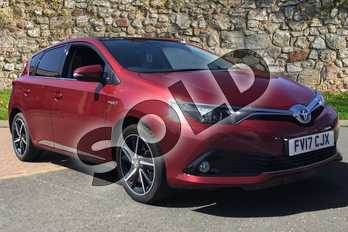 Toyota Auris 1.8 Hybrid Design TSS 5dr CVT in Tokyo Red at Listers Toyota Boston