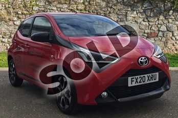 Toyota AYGO 1.0 VVT-i X-Trend 5dr in Chilli Red at Listers Toyota Boston