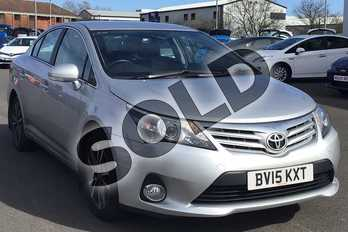Toyota Avensis 2.0 D-4D Icon 4dr in Silver at Listers Toyota Lincoln
