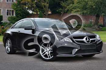 Mercedes-Benz E Class E350 BlueTEC AMG Line Premium 2dr 9G-Tronic in Obsidian Black metallic at Mercedes-Benz of Lincoln