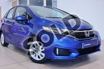 Honda Jazz 1.3 SE 5dr in Brilliant Sporty Blue at Listers Honda Northampton
