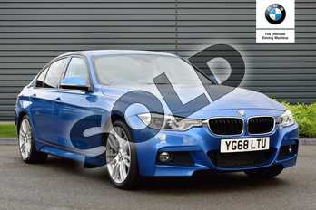 BMW 3 Series 320d M Sport 4dr Step Auto in Estoril Blue at Listers Boston (BMW)