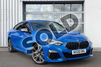 BMW 2 Series M235i xDrive 4dr Step Auto in Misano Blue metallic at Listers King's Lynn (BMW)