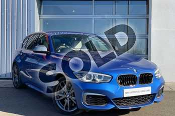 BMW 1 Series M140i 5dr (Nav) Step Auto in Estoril Blue at Listers King's Lynn (BMW)