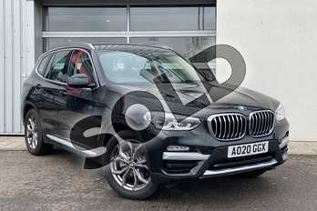 BMW X3 xDrive20d xLine 5dr Step Auto in Black Sapphire metallic paint at Listers King's Lynn (BMW)