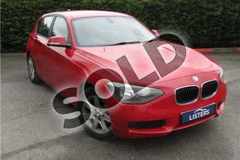 BMW 1 Series 116i ES 5dr in Solid - Crimson red at Listers U Boston
