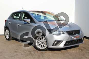 SEAT Ibiza 1.0 SE Technology (EZ) 5dr in Silver at Listers SEAT Worcester