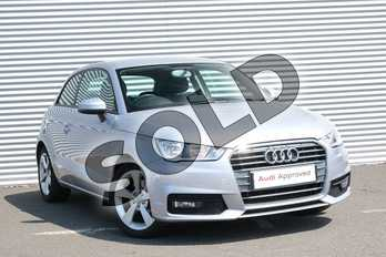 Audi A1 1.6 TDI Sport 3dr in Floret Silver Metallic at Coventry Audi