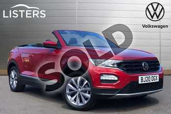 Volkswagen T-Roc 1.5 TSI Design 2dr in Kings Red at Listers Volkswagen Coventry