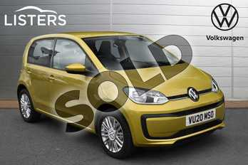 Volkswagen Up 1.0 Up 5dr in Honey Yellow at Listers Volkswagen Evesham