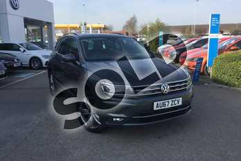 Volkswagen Tiguan 2.0 TSI 180 4Motion SEL 5dr DSG in Indium Grey at Listers Volkswagen Loughborough