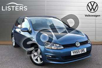 Volkswagen Golf 1.4 TSI Match 5dr DSG in Pacific Blue at Listers Volkswagen Loughborough