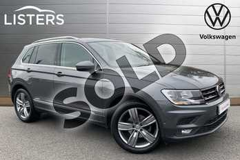 Volkswagen Tiguan 2.0 TDI 150 Match 5dr DSG in Indium Grey at Listers Volkswagen Loughborough