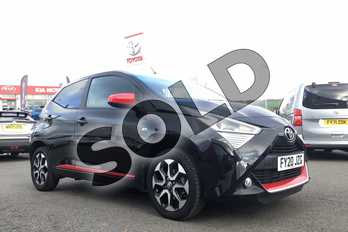 Toyota AYGO 1.0 VVT-i X-Trend 5dr in Bold Black at Listers Toyota Grantham