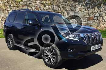 Toyota Land Cruiser 2.8 D-4D Icon 5dr Auto 7 Seats in Phantom Blue at Listers Toyota Grantham