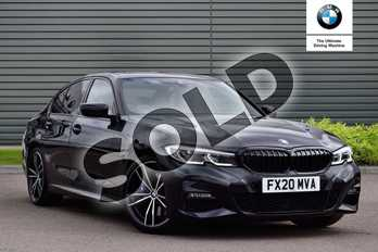 BMW 3 Series 330i M Sport 4dr Step Auto in Black Sapphire metallic paint at Listers Boston (BMW)