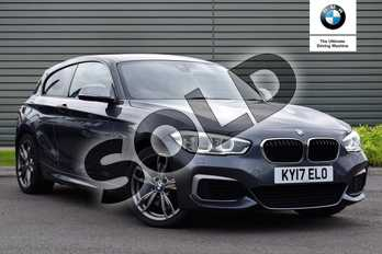 BMW 1 Series M140i 3dr (Nav) Step Auto in Mineral Grey at Listers Boston (BMW)