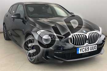 BMW 1 Series 118i M Sport 5dr Step Auto in Black Sapphire metallic paint at Listers King's Lynn (BMW)