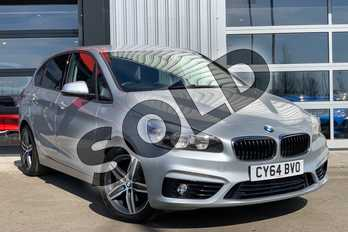 BMW 2 Series 218d Sport 5dr Step Auto in Glacier Silver at Listers King's Lynn (BMW)