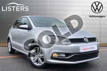 Volkswagen Polo 1.2 TSI Match Edition 5dr in Reflex silver at Listers Volkswagen Coventry