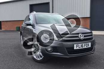 Volkswagen Tiguan 2.0 TDI BlueMotion Tech Match Edition 150 5dr in Nimbus Grey at Listers Volkswagen Loughborough