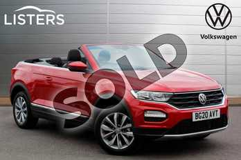 Volkswagen T-Roc 1.5 TSI Design 2dr in Kings Red at Listers Volkswagen Nuneaton