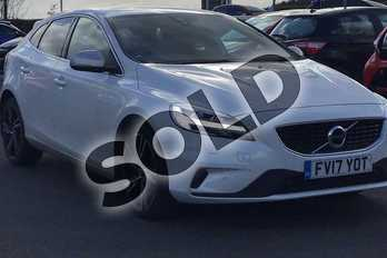 Volvo V40 D3 (4 Cyl 150) R DESIGN Pro 5dr in White at Listers Toyota Lincoln