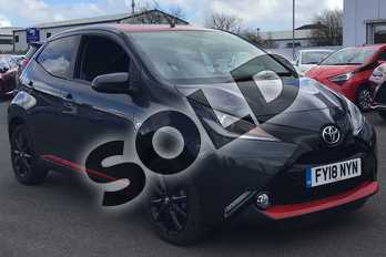 Toyota AYGO 1.0 VVT-i X-Press 5dr in Electro Grey at Listers Toyota Lincoln