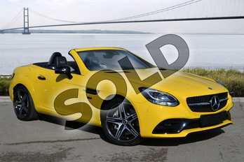Mercedes-Benz SLC SLC 200 Final Edition 2dr 9G-Tronic in sun yellow at Mercedes-Benz of Hull