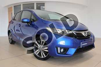 Honda Jazz 1.3 EX 5dr in Brilliant Sporty Blue at Listers Honda Northampton