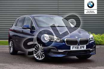 BMW 2 Series 216d Luxury 5dr Step Auto in Mediterranean Blue at Listers Boston (BMW)