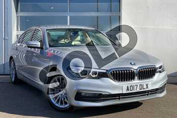 BMW 5 Series 530d xDrive SE 4dr Auto in Glacier Silver at Listers King's Lynn (BMW)