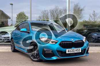 BMW 2 Series 218i M Sport 4dr DCT in Snapper Rocks Blue at Listers King's Lynn (BMW)