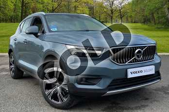 Volvo XC40 1.5 T5 (262) Hybrid Inscription 5dr Geartronic in Thunder Grey at Listers Volvo Worcester