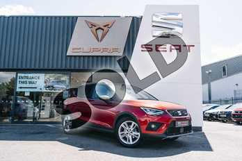 SEAT Arona 1.0 TSI 115 FR 5dr in Red at Listers SEAT Coventry