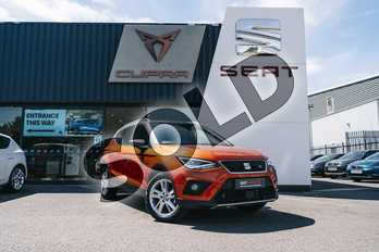 SEAT Arona 1.0 TSI 115 FR 5dr in Orange at Listers SEAT Coventry
