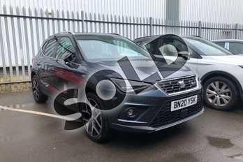 SEAT Arona 1.0 TSI 115 FR Sport (EZ) 5dr DSG in Grey at Listers SEAT Coventry