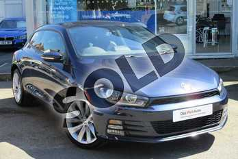 Volkswagen Scirocco 2.0 TDI 184 BlueMotion Tech GT 3dr in Night Blue at Listers Volkswagen Worcester