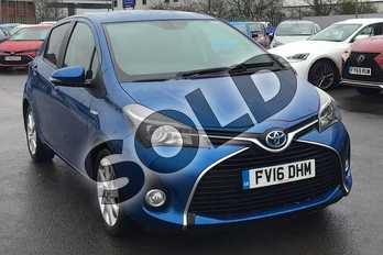 Toyota Yaris 1.5 Hybrid Excel 5dr CVT in Blue at Listers Toyota Lincoln