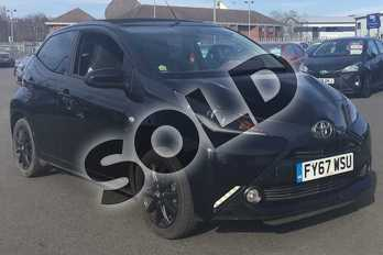 Toyota AYGO 1.0 VVT-i X-Style 5dr in Bold Black at Listers Toyota Lincoln