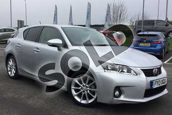 Lexus CT 200h 1.8 Luxury 5dr CVT Auto in Satin Silver at Lexus Lincoln