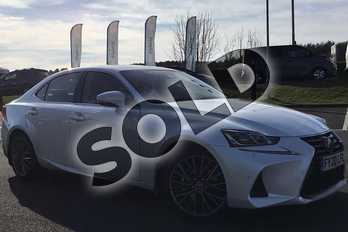 Lexus IS 300h 4dr CVT Auto in Sonic White at Lexus Lincoln