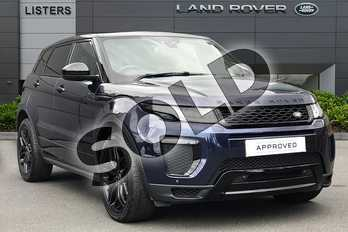 Range Rover Evoque 2.0 TD4 HSE Dynamic 5dr Auto in Loire Blue at Listers Land Rover Droitwich