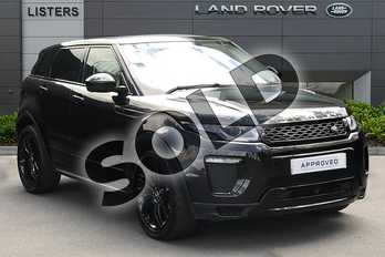 Range Rover Evoque 2.0 TD4 HSE Dynamic 5dr in Santorini Black at Listers Land Rover Droitwich
